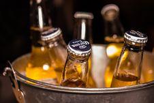 Free Photo Of Corona Extra Bottles On Bucket Stock Photography - 116984472