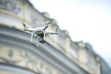 Free White Drone Quadcopter Stock Photos - 116984613
