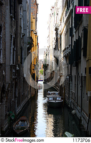 Canal of venice Stock Photo