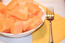 Free Bowl Of Melon Royalty Free Stock Image - 1170026