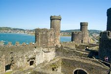 Free On The High Battlements Royalty Free Stock Photography - 1170597