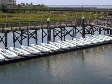 Free Row Of Boats Stock Photos - 1170723