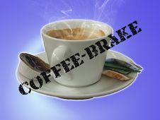 Free Coffee-brake Royalty Free Stock Photography - 1171307