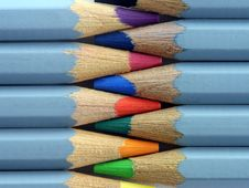 Free Watercolour Pencils Stock Photography - 1171722