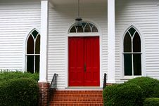 Free Red Door Stock Photography - 1172202