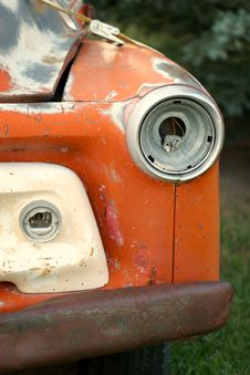 Old Truck Headlight Stock Images