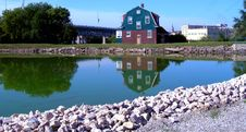 Free Bridge House Royalty Free Stock Photo - 1173335