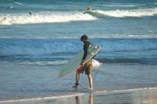 Free Beach Surfer Royalty Free Stock Photos - 1174148