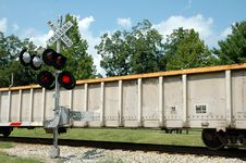 Free Railroad Crossing Royalty Free Stock Images - 1174579