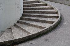 Urban Stairs Stock Photo