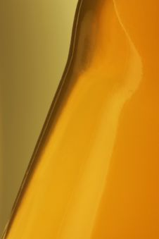Free Juice Bottle Closeup. Stock Image - 1175601