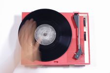 Free Red Record Player Royalty Free Stock Images - 1175969