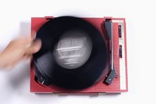 Free Red Record Player Stock Photo - 1175970