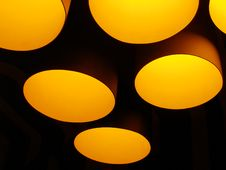 Free Round Lamps Royalty Free Stock Photo - 1175975