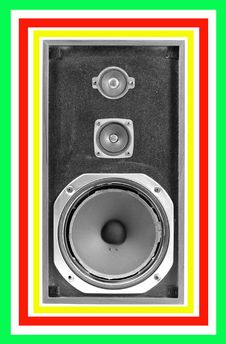 Free Old Found Speaker Royalty Free Stock Images - 1175999