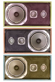 Free Old Found Speaker Royalty Free Stock Photography - 1176077