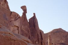 Free Touring In Arches National Park 14 Royalty Free Stock Image - 1176446