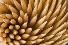 Free Swirly  Toothpicks Royalty Free Stock Image - 1176676