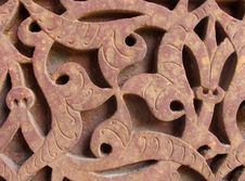 Free Intricate Stone Carving Detail Royalty Free Stock Photos - 1176958