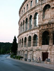 Free Ancient Coloseum Royalty Free Stock Images - 1177469