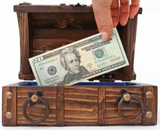 Free Money Chest Stock Photo - 1178650