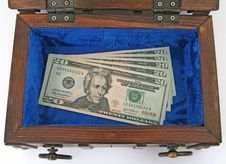 Free Money Chest Royalty Free Stock Photography - 1178657