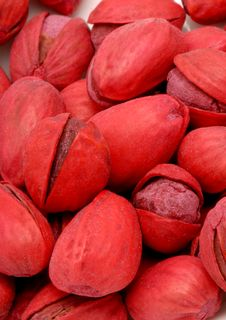 Free Red Pistachios 2 Stock Image - 1179081