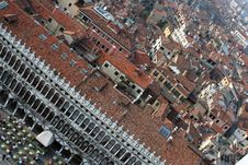 Free Aerial Venice 2 Royalty Free Stock Image - 1179496