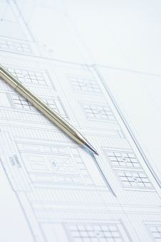 Free Blue Print Stock Photography - 1179712