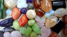 Free Colorful Semiprecious Stones Closeup Stock Photography - 117079452