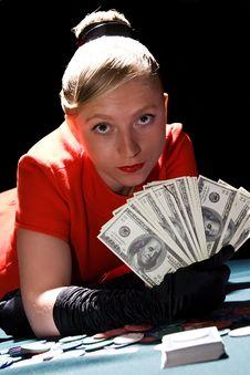 Free Poker Winner Royalty Free Stock Photos - 11715578
