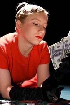 Free Lucky Poker Winner Stock Photography - 11715582