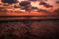 Free Ocean Body Of Water During Sunset Stock Image - 117112391