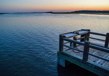 Free Photo Of Wooden Dock During Dusk Royalty Free Stock Photos - 117112408