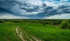 Free Gray Clouds Under Green Field Royalty Free Stock Photography - 117112557