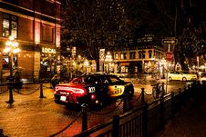 Free Photography Of Police Car During Night Time Royalty Free Stock Photo - 117112855