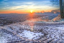 Free Photography Of Snow During Sunset Royalty Free Stock Image - 117113016