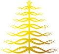 Free Ornate Golden Christmas Tree Stock Photo - 11720170