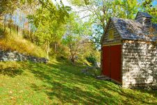 Free Hillside Building Or Shed Stock Photo - 11728820