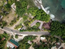 Free Aerial View Of Asphalt Road Royalty Free Stock Photo - 117200375