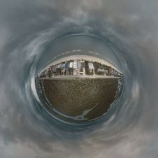 Free Fish Eye Lens Of Body Of Water Stock Image - 117352421