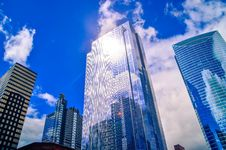 Free Low Angle Shot Of High Rise Buildings Stock Photography - 117352812