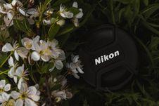 Free Black Nikon Camera Cap Royalty Free Stock Image - 117352826