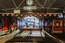 Free Lugano-centrale Signage Royalty Free Stock Photography - 117352827