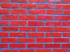 Free Red Brick Wall Royalty Free Stock Image - 11749526