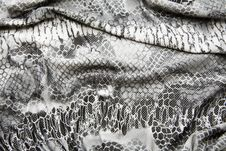 Close Up Of Fabric With Patern Royalty Free Stock Photography