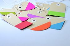 Free Brown Paper Tag Lot Stock Photo - 117486250
