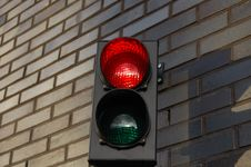Free Stoplight Royalty Free Stock Image - 11752216