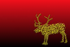 Free Reindeer Royalty Free Stock Images - 11768739