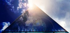 Free Low Angle Photograph Of Pyramid Glass During Calm Weather Royalty Free Stock Image - 117608386